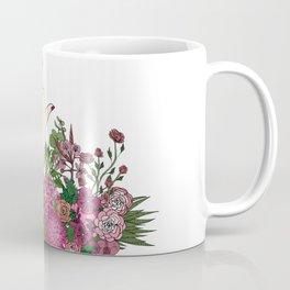 Botanical Bird Bouquet Coffee Mug