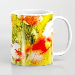 Wild poppy abstract. Coffee Mug