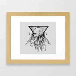 Everything with Skulls - 03 Framed Art Print