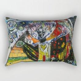 Permission to be Beautiful Rectangular Pillow