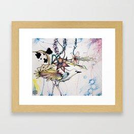 Perpetual Frequencies Framed Art Print