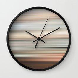 Portland, Abstract Wall Clock