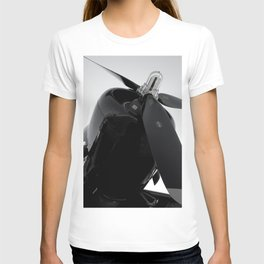 Propped up T-shirt