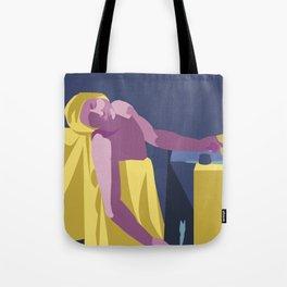 Death of a Marat Pop Art Tote Bag