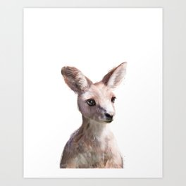 Little Kangaroo Art Print