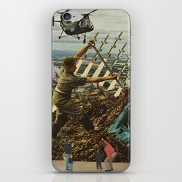 Marriage of Nationalist Security & Capitalist Democracy iPhone Skin