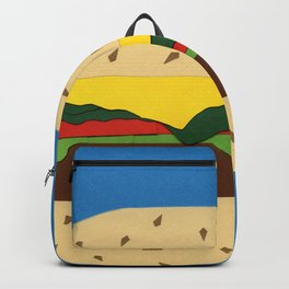 Burger Backpack