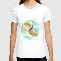 aang T-shirts featuring Appa - Avatar the legendo of Aang by Manfred Maroto