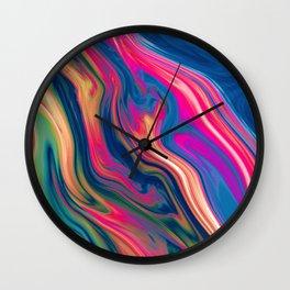 L'eau Wall Clock