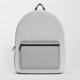Gray, white Ombre. Backpack