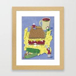 Reuben Analysis Framed Art Print