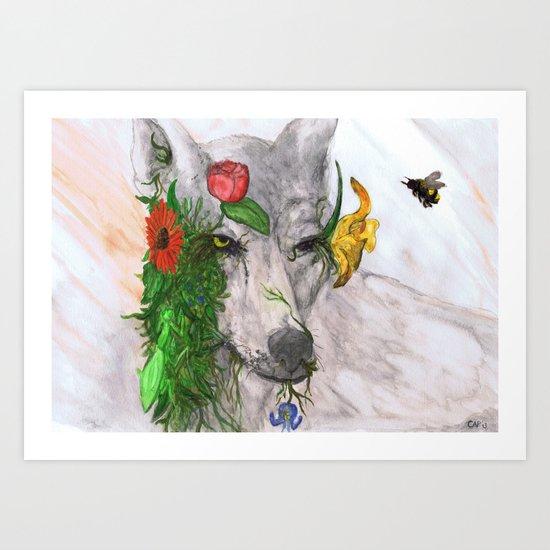 """""""Wolf's Law"""" by Cap Blackard Art Print"""