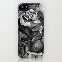 "Un Ultimo Baile ""Shadow"" version iPhone Case"