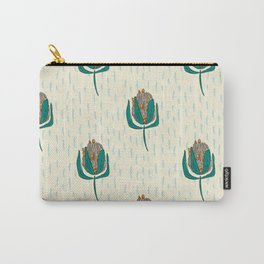 Protea Floral Carry-All Pouch