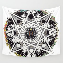 Wheel Of The Year Wall Tapestry