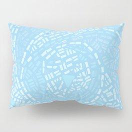 Happy lightful blue Mosaic Pillow Sham