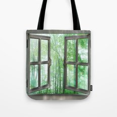 WINDOW TO NATURE Tote Bag