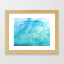 Water Fantasia #decor #buyart #society6 Framed Art Print