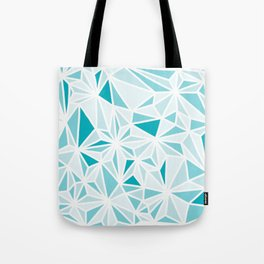 geo blue Tote Bag