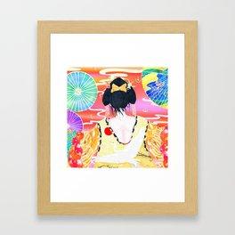 Oriental Beauty Framed Art Print