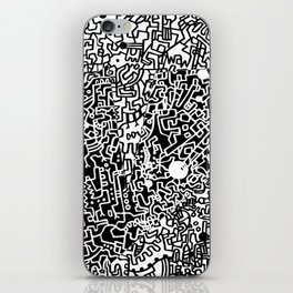 Cell Pattern iPhone Skin