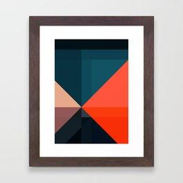 Geometric 1713 Framed Art Print