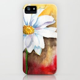 daisy with edge iPhone Case
