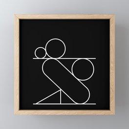 Equilibrio:03 Framed Mini Art Print