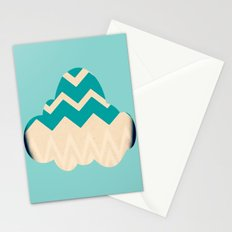 Chevron Cloud Stationery Cards
