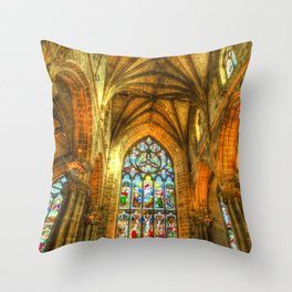 St Giles Cathedral Edinburgh Throw Pillow