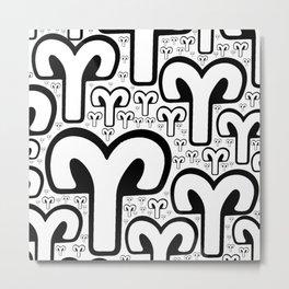 Aries-Ram on Metal Print