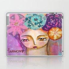 Harmony- inspirational art girl Laptop & iPad Skin