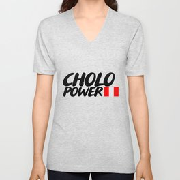 CHOLO POWER Unisex V-Neck