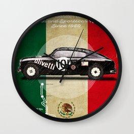 Panamericana Vintage Lancia Wall Clock
