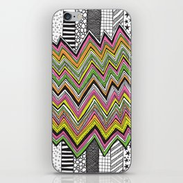 Stripes and Zig Zags iPhone Skin