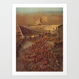 alpacalypse Art Print