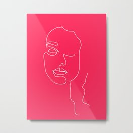 Pinky Mina Metal Print