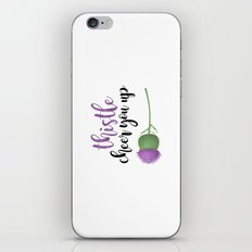 Thistle Cheer You Up iPhone & iPod Skin