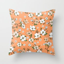 Lovable Flowers 19 Throw Pillow