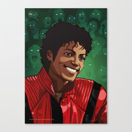M. Jackson Canvas Print