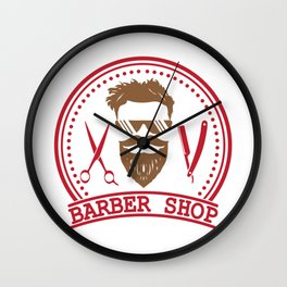 Barber shop Wall Clock