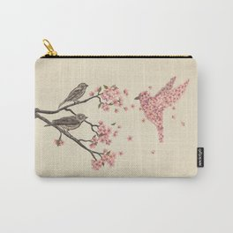 Blossom Bird  Carry-All Pouch