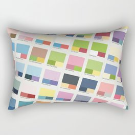 Poke-Pantone 2 (Johto Region) Rectangular Pillow