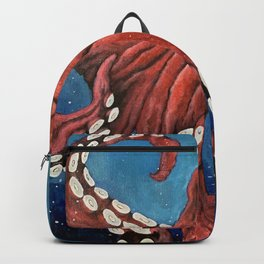 Octopus in the deep Backpack