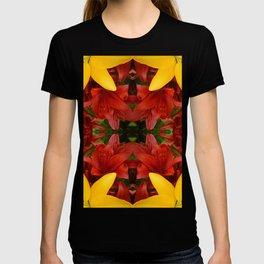 """A Gathering of Lilies"" Remix - 4 (2-1) [D4469~57] T-shirt"