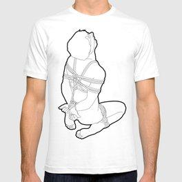 Skinflint Bondage Rope Bound Boy T-shirt