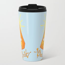 In Cheese We Trust Travel Mug