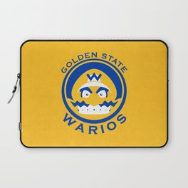 Golden State Warios - Mushroom Kingdom Champs Laptop Sleeve