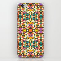 mod iPhone & iPod Skins featuring Mod Tribal by Beth Thompson