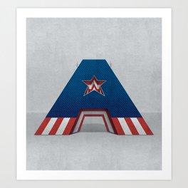 Superbet 'A' Art Print